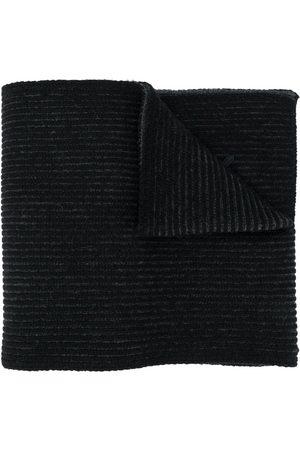 Kenzo Men Scarves - Textural Wool Knit Scarf