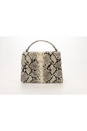 Luxe Designers Flo & Sue Claudia Snakeskin-effect calfskin Top Handle Bag