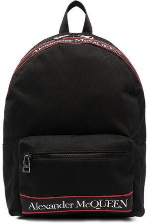 Alexander McQueen Men Purses & Wallets - Logo Print Backpack