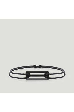 Le Gramme Bracelets - 17/10g Ceramic Cord Bracelet