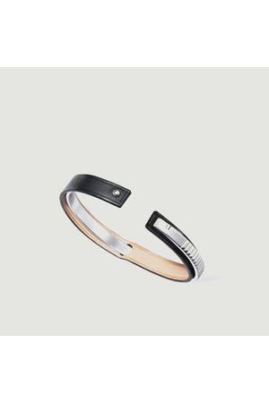 URSUL Leather bracelet Uraeus MATT