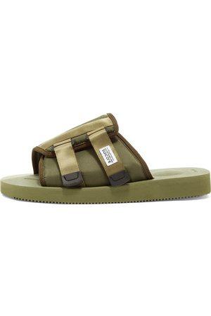SUICOKE Men Sandals - Kaw-Cab Sandals/Olive