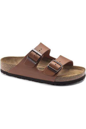 Birkenstock Men Sandals - Arizona Smooth Leather Ginger