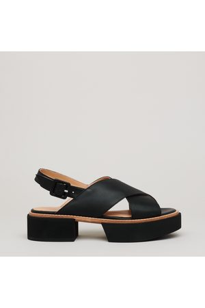 Paloma Barceló Leather sandal leather sole and micro extralight rubber