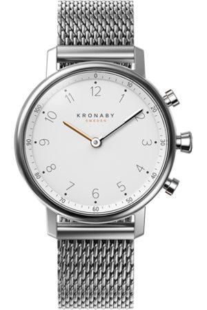 Kronaby Men Watches - Nord 38mm Hybrid Smartwatch - White, Steel