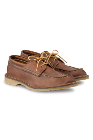 Red Wing Men Loafers - Wacouta Camp Moc Shoe Copper