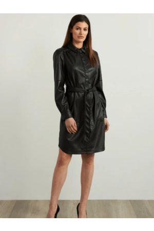 Joseph Ribkoff Women Dresses - Vegan Leather Dress 213953 11