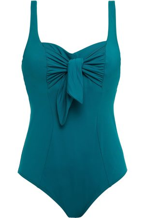 Maison Lejaby Women Swimsuits - Woman Knotted Swimsuit Teal Size 36 D