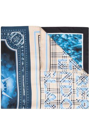 Burberry Montage-print scarf