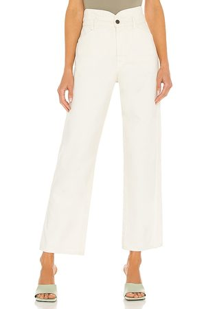 VERONICA BEARD Blake Straight with Notch Waistband in . Size 25, 26, 27, 28, 29, 30.