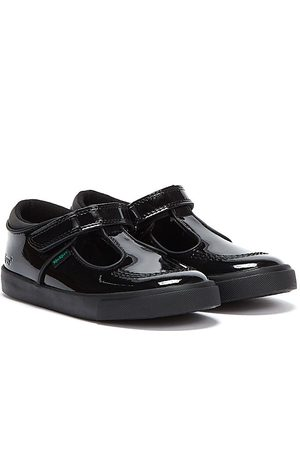 Kickers Sports Shoes - Infant Tovni T Bar Patent Leather Shoes