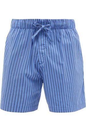 Tekla Striped Organic-cotton Pyjama Shorts - Mens - Stripe
