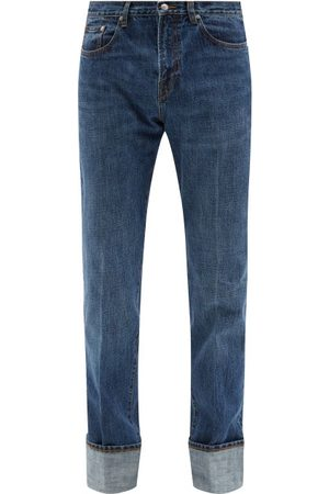 Paul Smith Turned-up Straight-leg Jeans - Mens