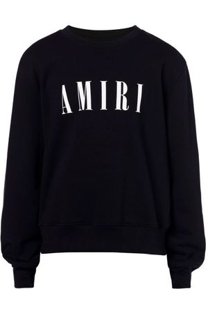 AMIRI Logo-print Jersey Sweatshirt - Mens