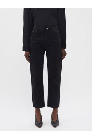Raey Crop Organic-cotton Straight Leg Jeans - Womens