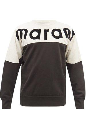 Isabel Marant Howley Logo-print Cotton-blend Jersey Sweatshirt - Mens - Multi
