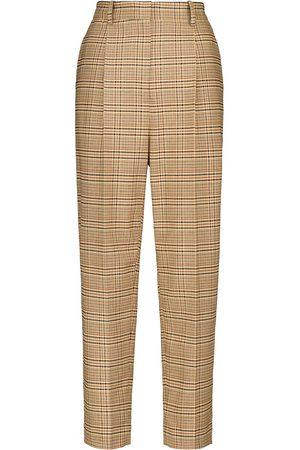 Altuzarra Sidney high-rise wool and cotton-blend pants