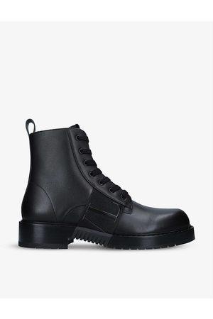 VALENTINO GARAVANI VL7N lace-up leather boots