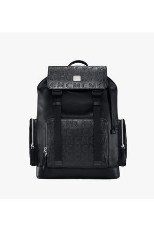 MCM Brandenburg Backpack in Monogram Leather