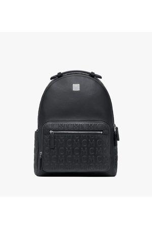 MCM Stark Backpack in Monogram Leather