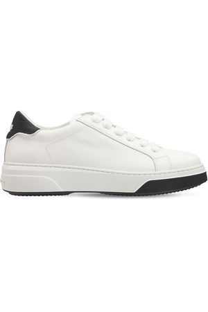 Dsquared2 Women Trainers - 40mm Bumper Leather Sneakers