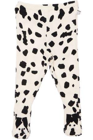 Stella McCartney Organic Cotton & Wool Knit Leggings