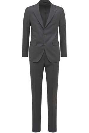TAGLIATORE Wool Blend Prince Of Wales Suit