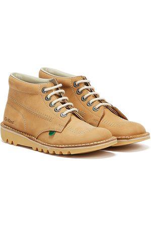 Kickers Kick Hi Womens Tan / Natural Nubuck Boots