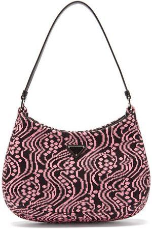 Prada Cleo Jacquard-nylon Shoulder Bag - Womens