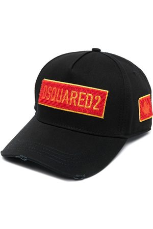 Dsquared2 Men Hats - Embroidered-logo six-panel cap