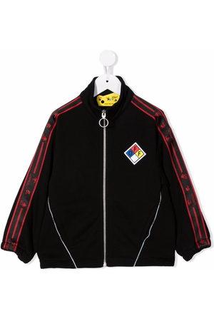 OFF-WHITE Logo-tape track jacket