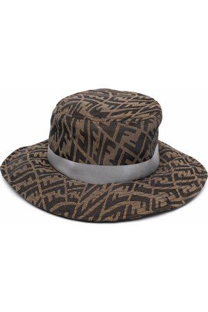 Fendi FF Vertigo-motif hat