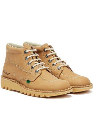 Kickers Kick Hi Mens Tan Nubuck Boots