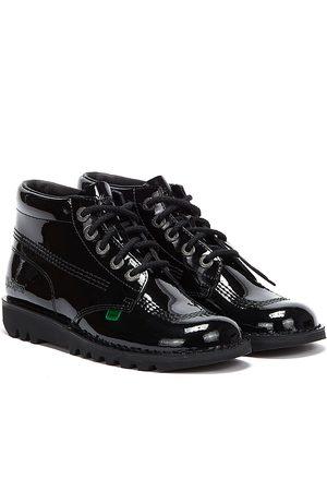 Kickers Kick Hi Womens Patent Boots