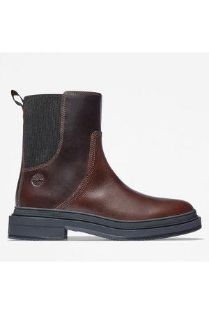 Timberland Lisbon lane chelsea boot for women in dark dark , size 3.5