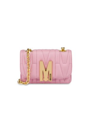 Moschino Mini Quilted M Bag With Shoulder Strap