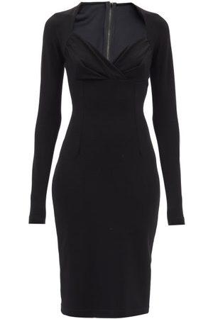 Dolce & Gabbana Women Casual Dresses - Sweetheart-neckline Jersey Midi Dress - Womens