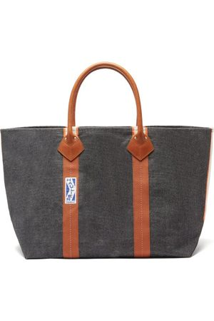 Haulier Utility Large Striped Canvas Tote Bag - Womens