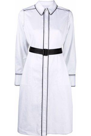 Karl Lagerfeld Contrast-detail shirt dress
