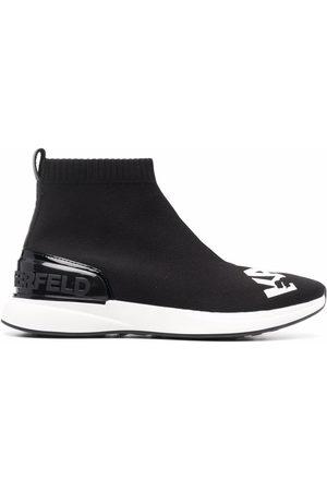 Karl Lagerfeld Finesse Legere logo sneaker boots