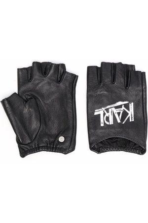 Karl Lagerfeld K/Ikon logo deco gloves
