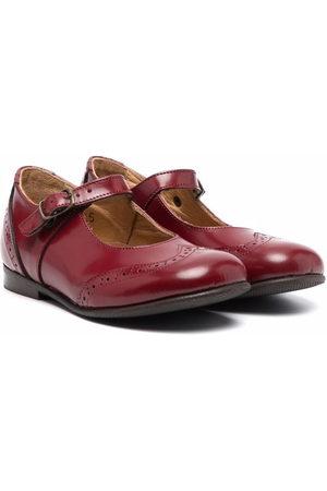 PèPè Brogue-detail leather shoes