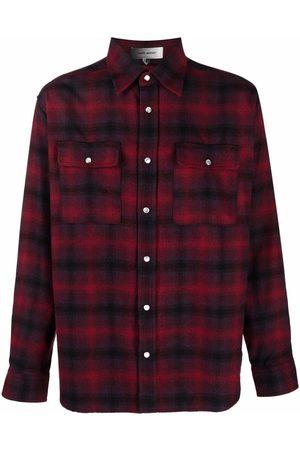 Isabel Marant Checked long-sleeve shirt