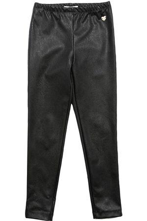 MONNALISA Faux Leather Leggings