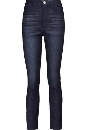 3x1 W3 Channel Seam high-rise skinny jeans
