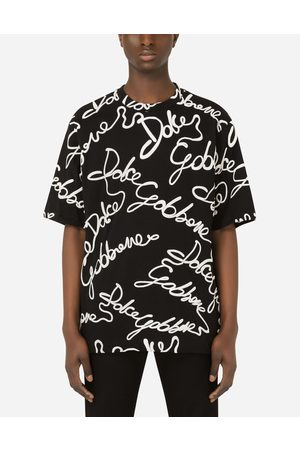 Dolce & Gabbana Collection - Jersey T-shirt with rubberized logo male S