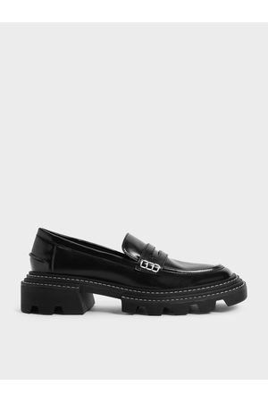 CHARLES & KEITH Women Loafers - Perline Chunky Penny Loafers