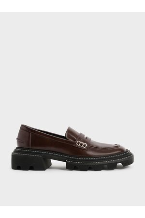 CHARLES & KEITH Perline Chunky Penny Loafers
