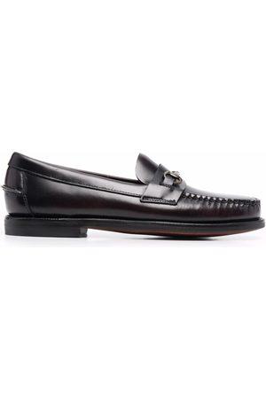 SEBAGO Horsebit-detail leather loafers