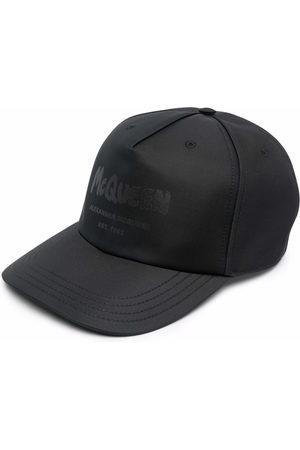 Alexander McQueen Men Hats - Graffiti-print baseball cap - 1000